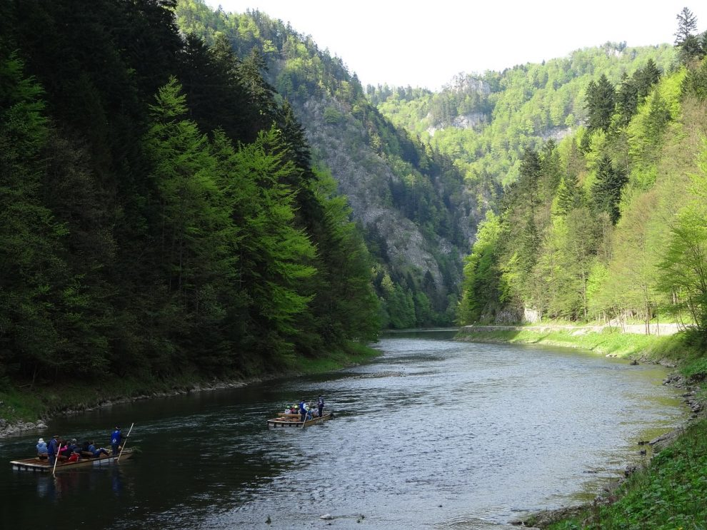 Spływ Dunajcem Słowacja